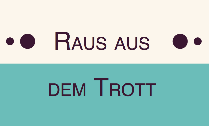 font-variant: small-caps – digitale Kapitälchen